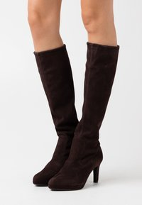 Peter Kaiser - PAULINE - High heeled boots - dark brown - 0