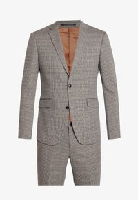 CHECKED SUIT - Oblek - beige