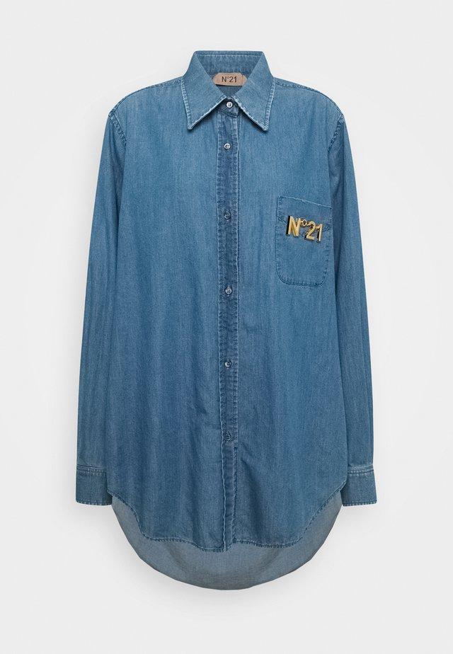 Camicia - degradable blue