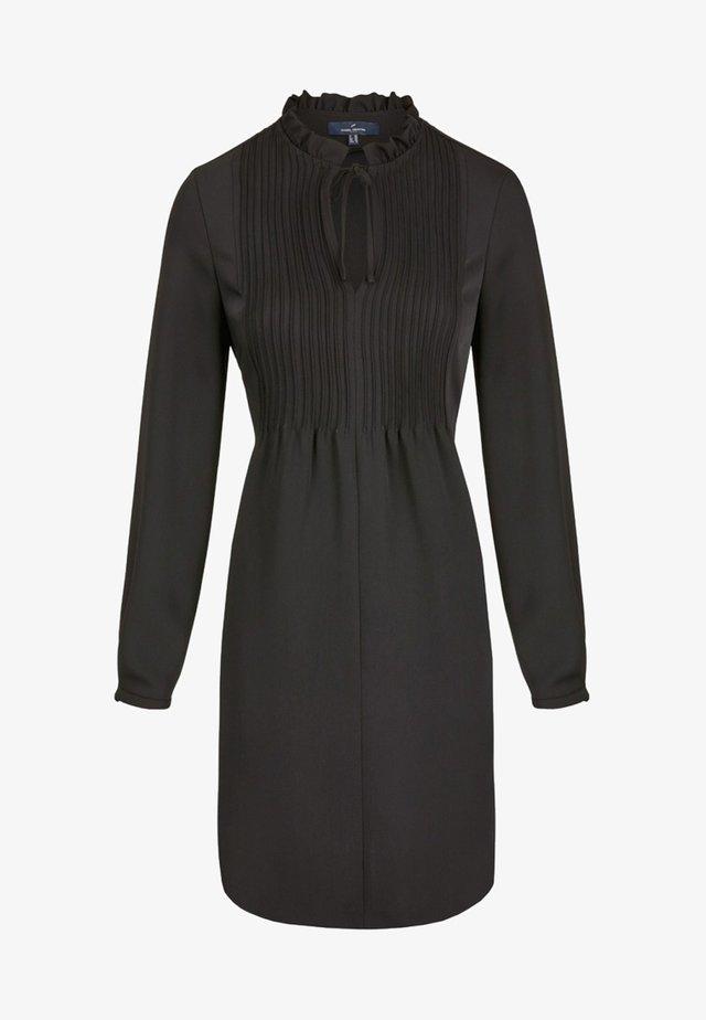 MIT VERSPIELTEN DETAILS - Day dress - black