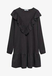 Mango - ADELINA - Korte jurk - antraciet - 6