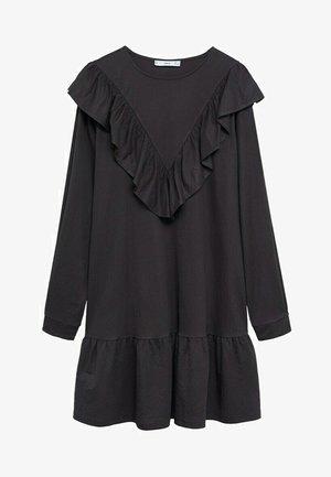 ADELINA - Denní šaty - antraciet