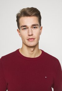 Tommy Hilfiger - CREW NECK - Neule - rouge - 3