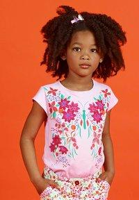 Du Pareil au Même - Print T-shirt - parma violet - 0