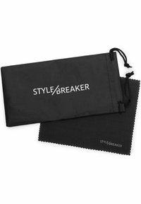 STYLEBREAKER - SCHMALEM METALLRAHMEN - Sunglasses -  gold / pink - 3