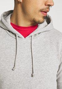 Brave Soul - CLARENCE - Sweatshirt - light grey marl - 5