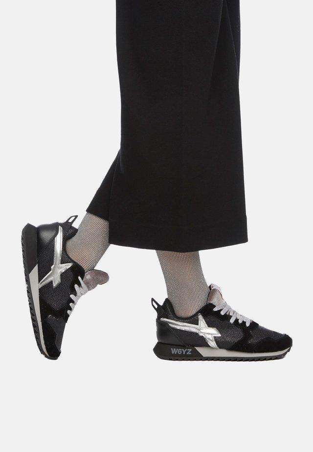 Baskets basses - schwarz