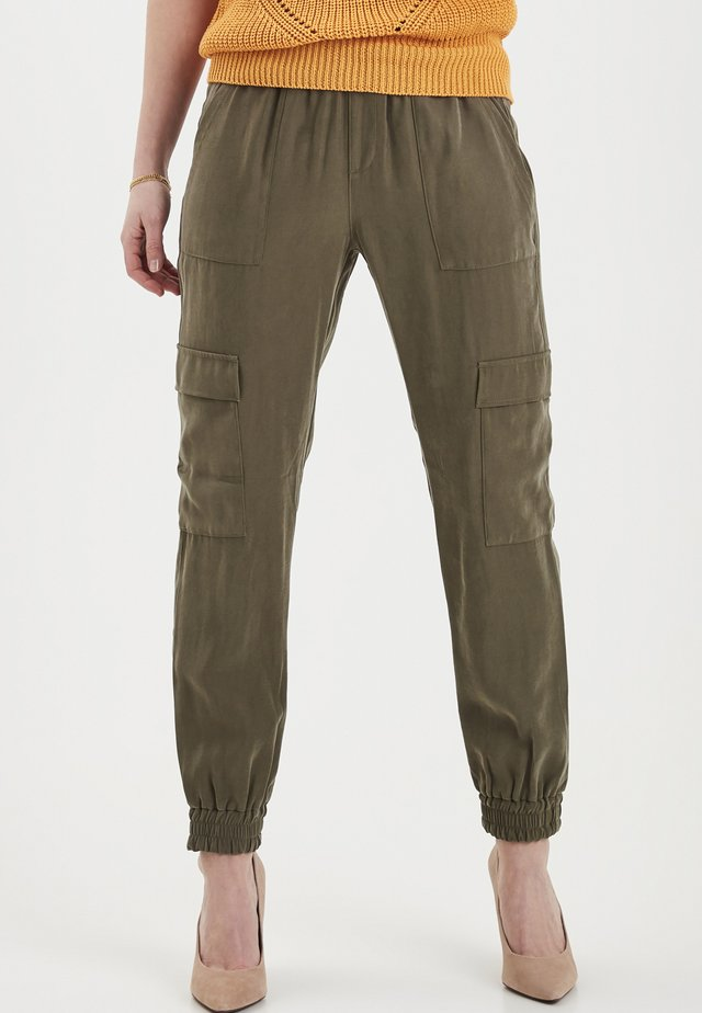 DRIARCY  - Trousers - dusty olive