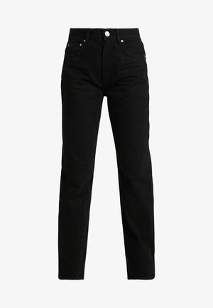THE 90'S HIWAIST - Jeansy Relaxed Fit - black
