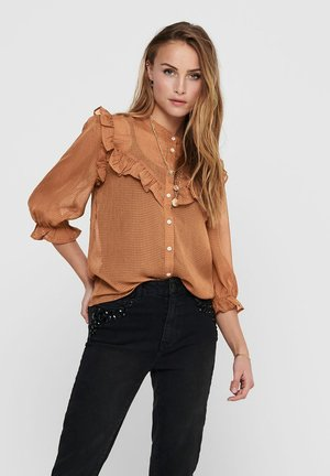 JACQUELINE DE YONG - Button-down blouse - argan oil