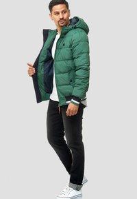 INDICODE JEANS - REGULAR  FIT - Winter jacket - smoke pine - 1