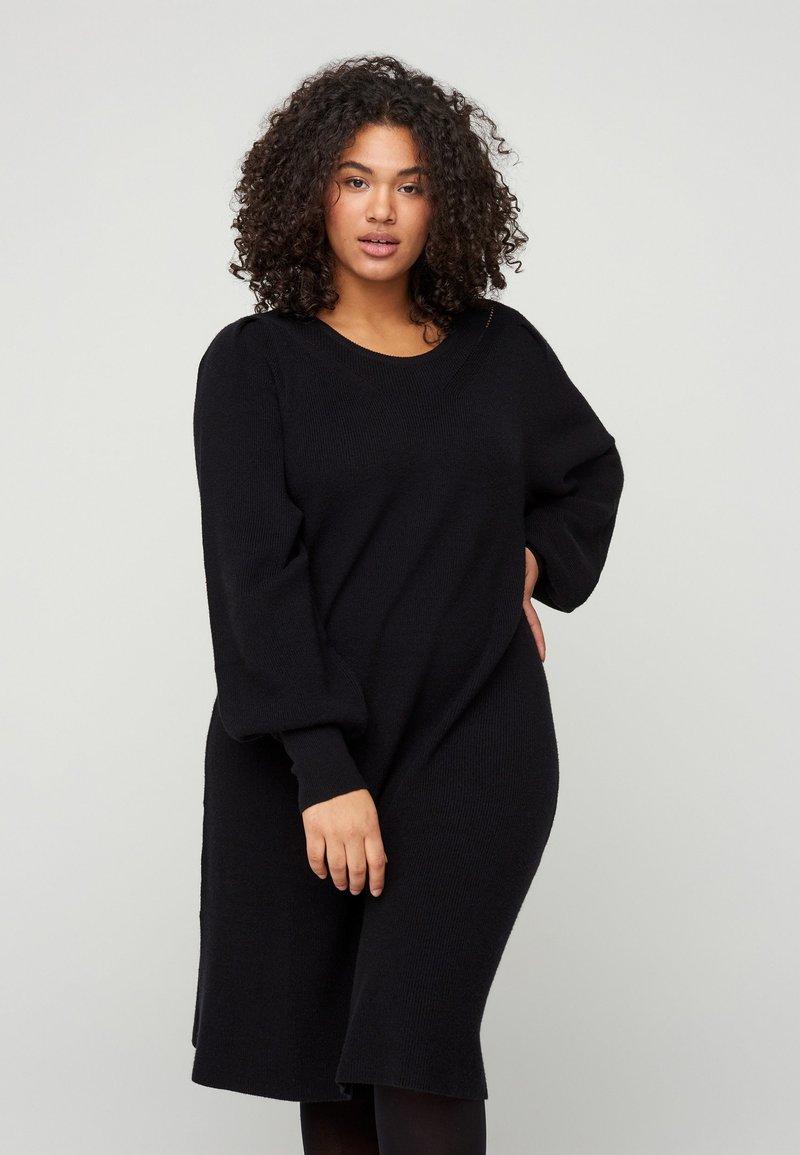 Zizzi - Shift dress - black