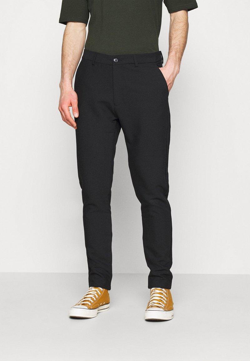 Samsøe Samsøe - FRANKIE REGULAR TROUSERS - Pantaloni - black