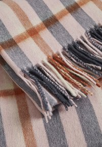 Part Two - ECITANAPW - Scarf - big check, silver pink - 4