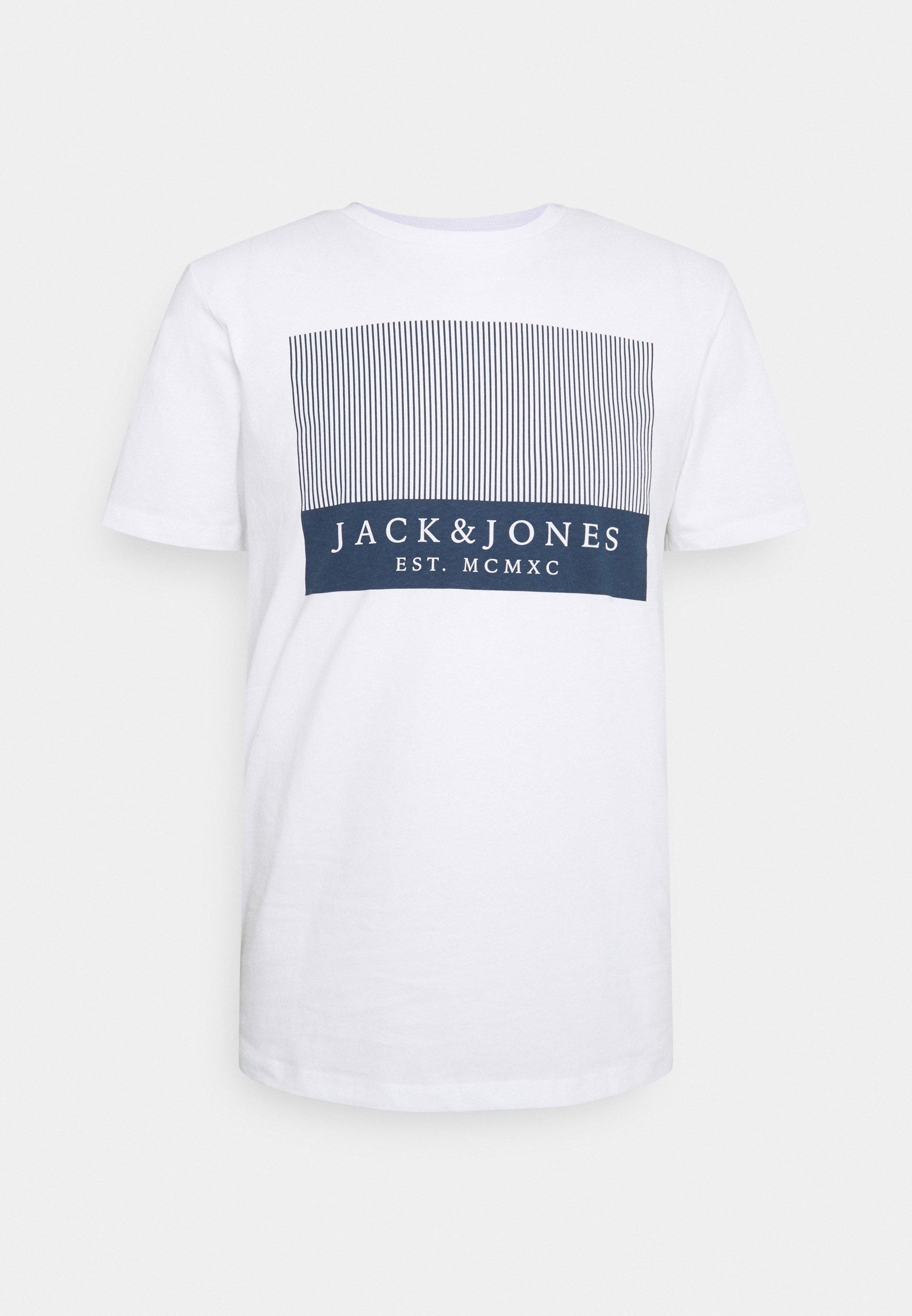 Herren JJSTROKE TEE CREW NECK - T-Shirt print