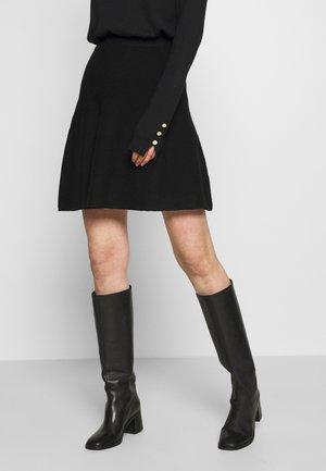ONLLYNSIE SKIRT  - Jupe trapèze - black