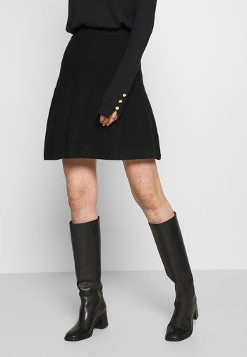 ONLLYNSIE SKIRT  - Mini skirt - black