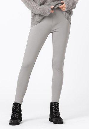 Leggings - Trousers - silbergrau