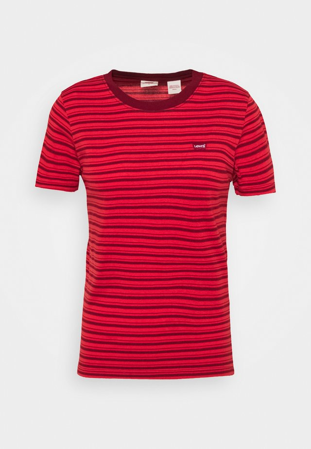 BABY TEE - T-shirt imprimé - silphium poppy red
