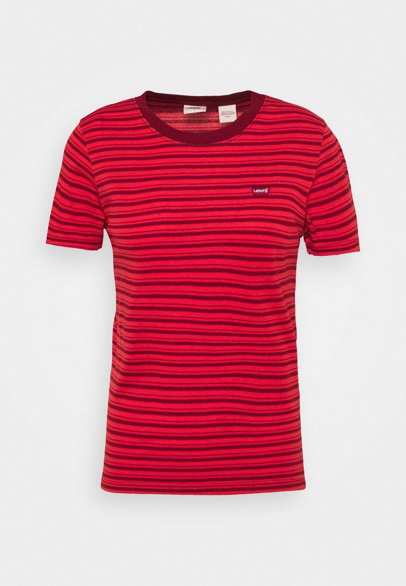 Levi's® - BABY TEE - Print T-shirt - silphium poppy red
