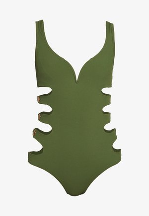 REEVE SWIMSUIT - Swimsuit - khaki
