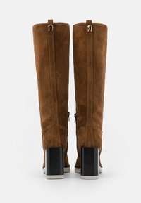 Furla - GRETA HIGH BOOT - High heeled boots - cognac/talco/nero - 3