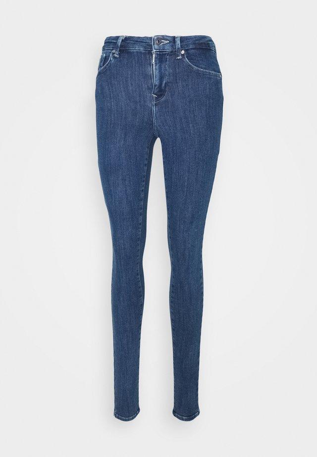 ONLPOWER LIFE PUSHUP - Jeans Skinny Fit - dark blue denim