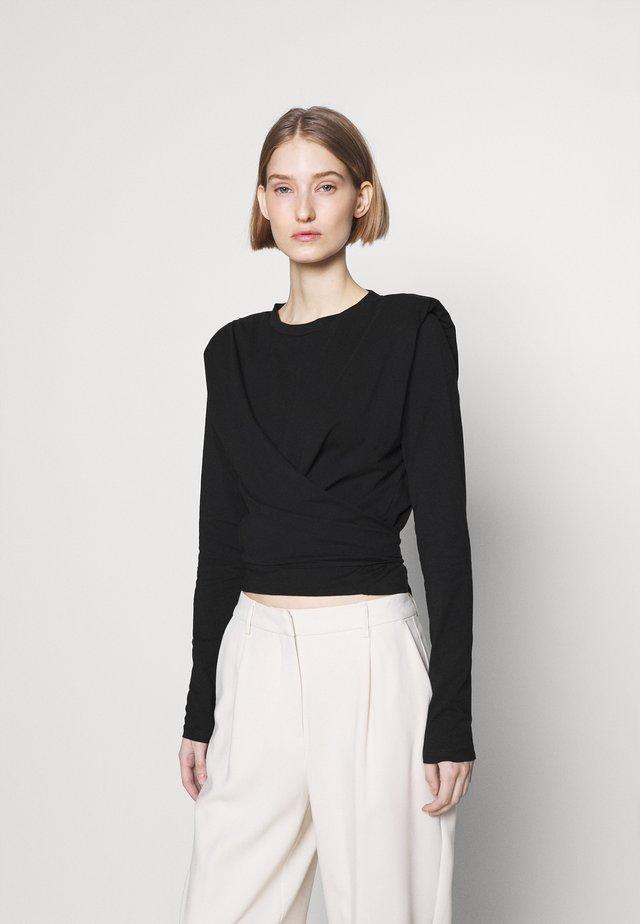 CARLA KATIA - Long sleeved top - black