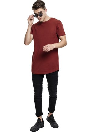 SHAPED LONG TEE DO NOT USE - Basic T-shirt - rusty