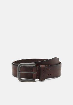 TUMBLED ICON BELT - Belt - brown