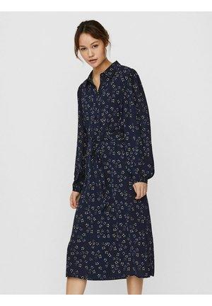 Shirt dress - navy blazer