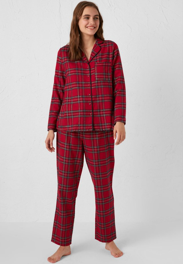 PLAID  - Pyjama - red