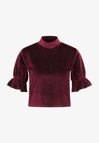 myMo at night - Blouse - bordeaux - 4