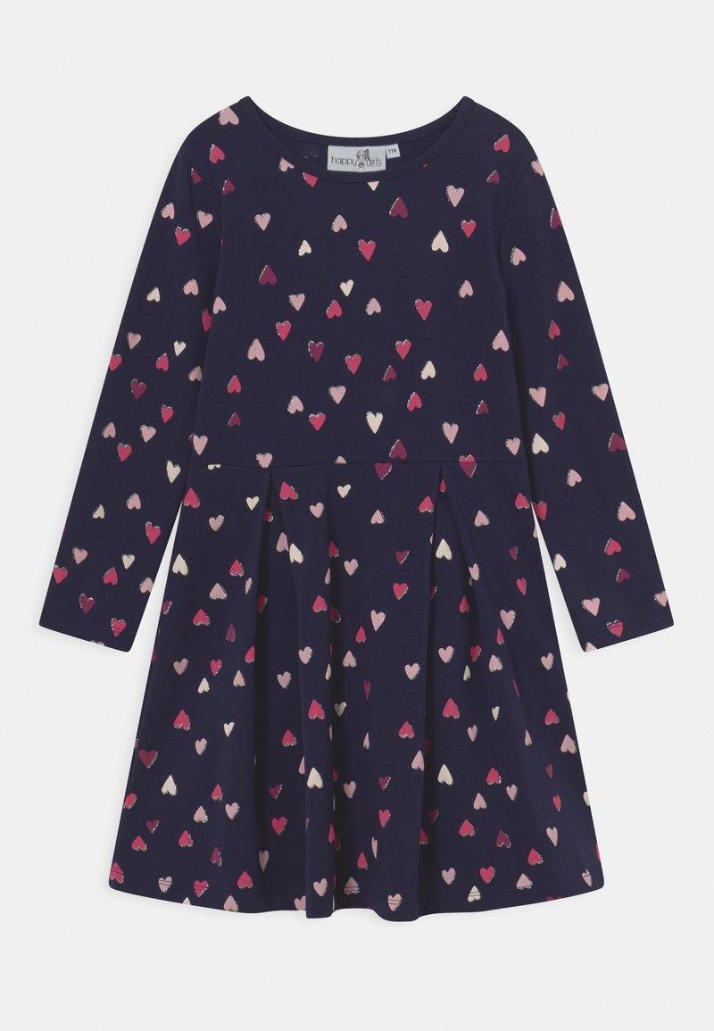 happy girls - Jersey dress - navy