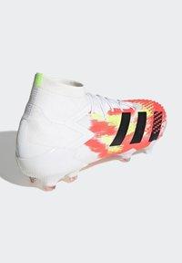 adidas Performance - Kopačky lisovky - ftwr white/core black/pop - 4