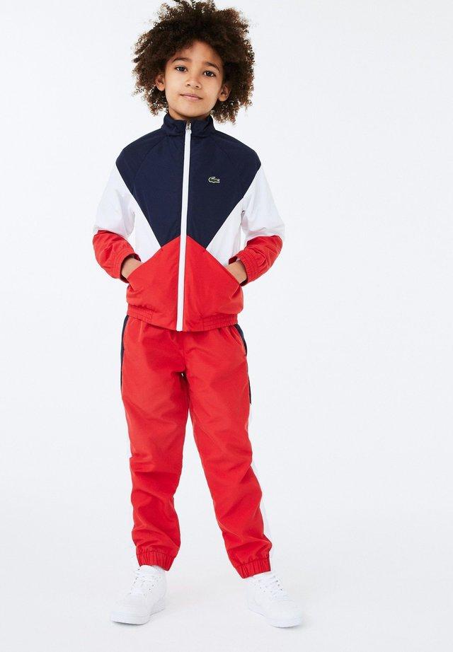 Survêtement - bleu marine / blanc / rouge