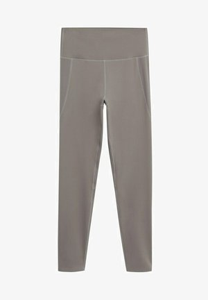 Leggings - Trousers - hellbraun/pastellbraun