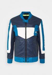 Diesel - L-MAY JACKET - Leather jacket - blue - 5