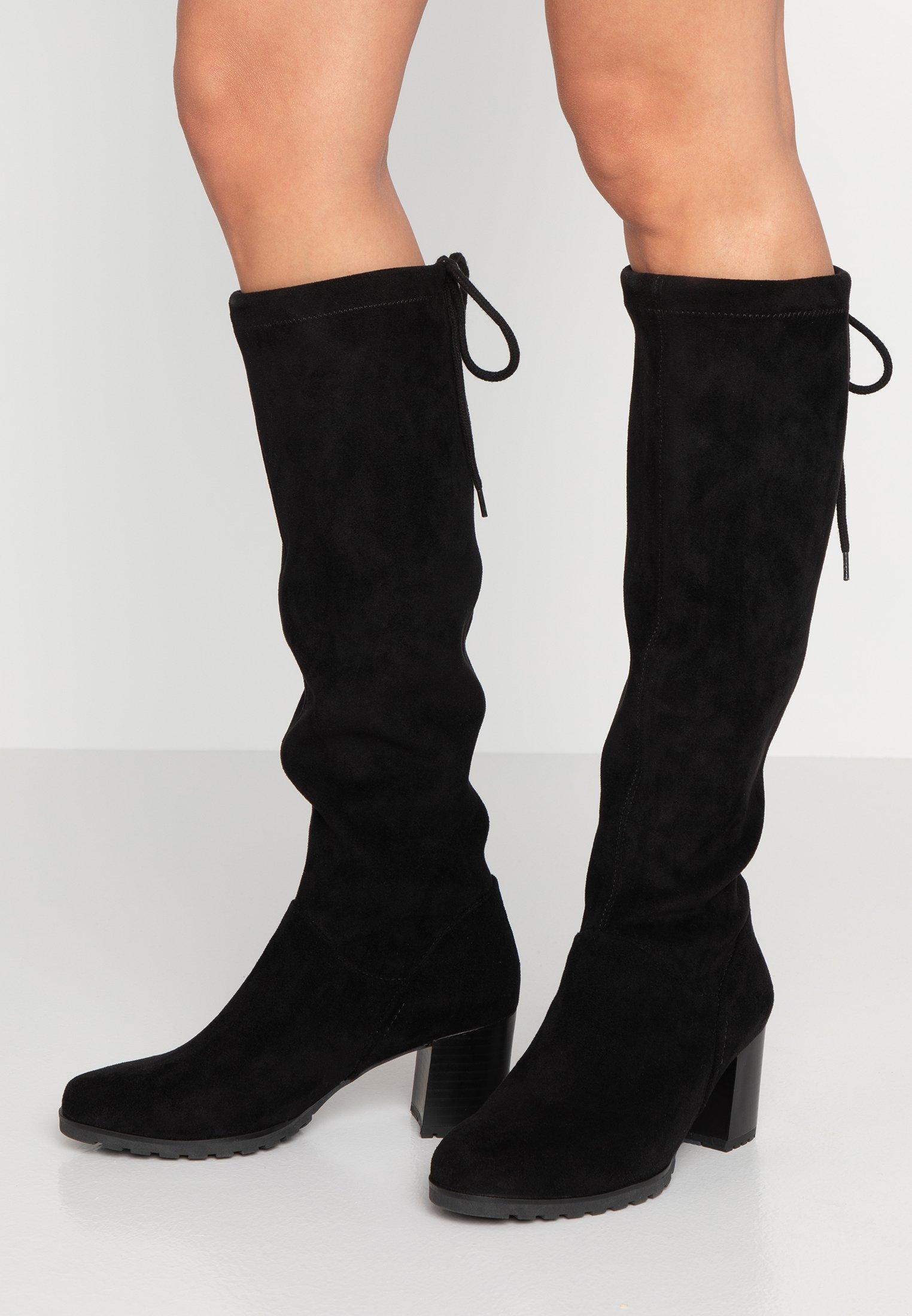 Topshop TAYLOR LEG Klassiska stövlar black Zalando.se