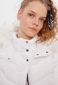 Bershka - Down jacket - white - 3