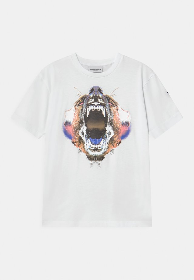 BEAR - T-shirt con stampa - white
