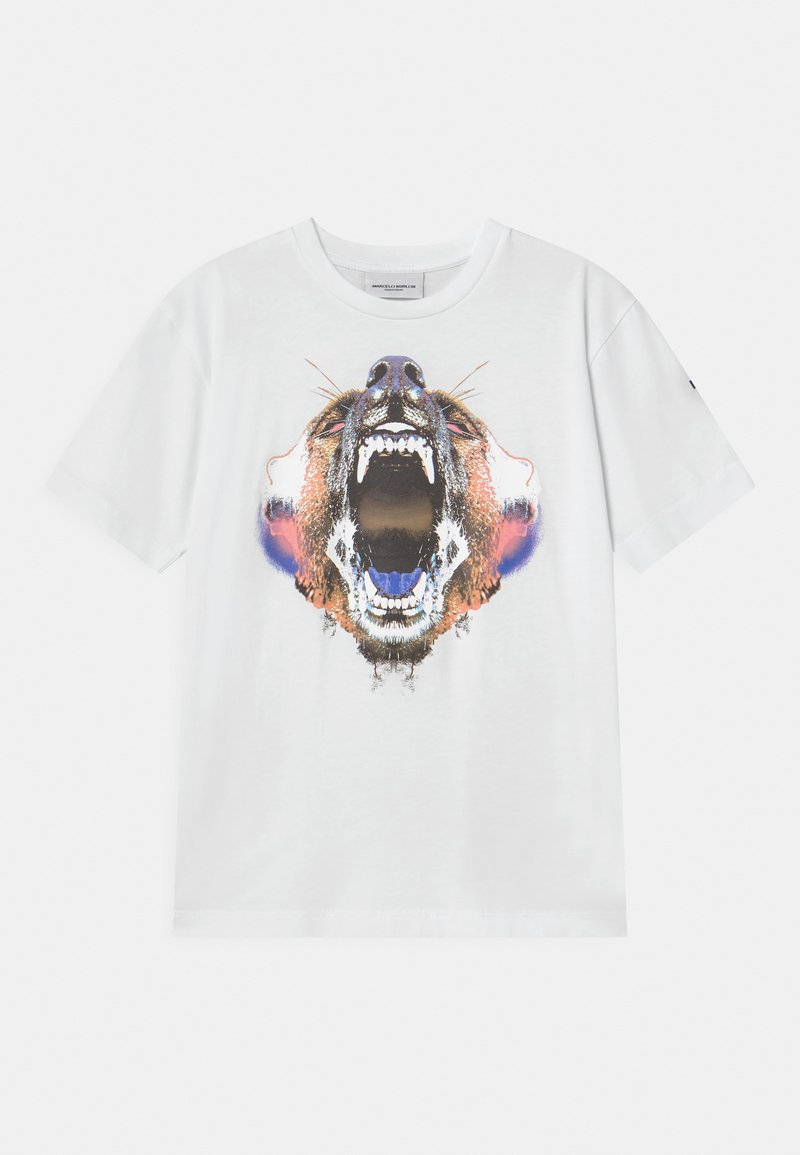 Marcelo Burlon - BEAR - Print T-shirt - white