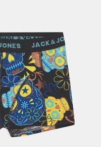 Jack & Jones Junior - JACSUGAR SKULL 3 PACK - Panties - black/blazing yellow - 3