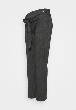 MLPAOLA  PANTS - Trousers - grey/white