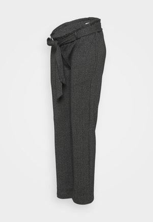 MLPAOLA  PANTS - Kalhoty - grey/white