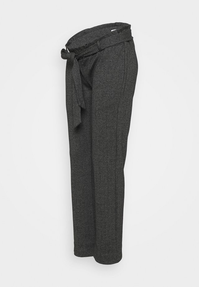 MLPAOLA  PANTS - Broek - grey/white