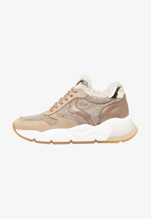 SHEEL FUR - Sneakers basse - beige