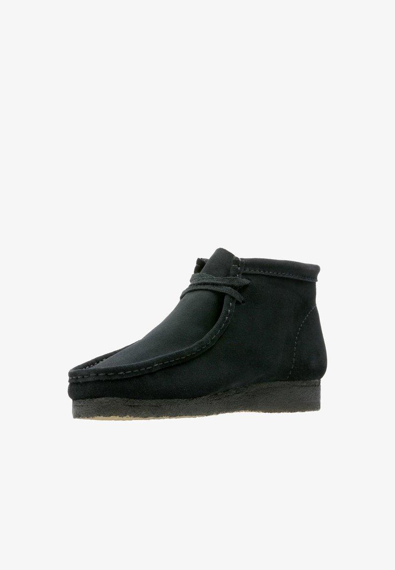 Clarks Originals - Ankle boots - schwarzes veloursleder