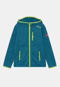 TrollKids - JONDALEN UNISEX - Fleece jacket - petrol/lime - 0