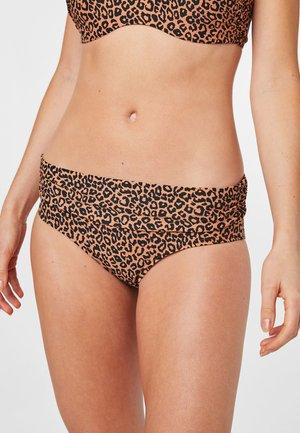 Bikini bottoms - brown, anthracite